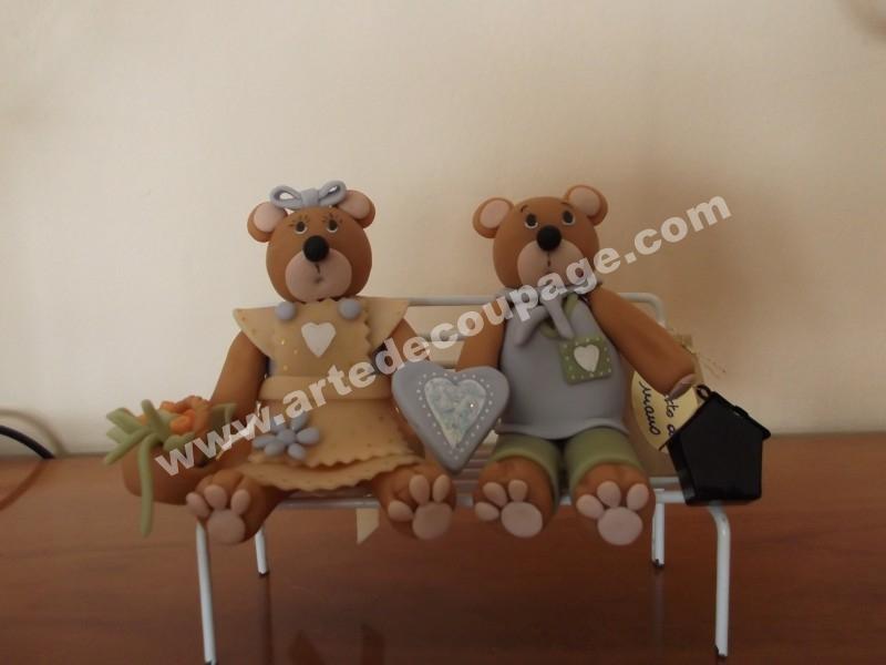 altro lavoro ...gli orsetti del cuore